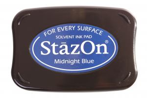 StazOn Stempelkissen Midnight Blue / Blau