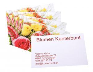Visitenkarten Geschäftskarten Online Gestalten Bestellen
